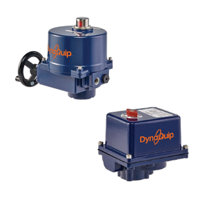 Electric Rotary Valve Actuators from DynaQuip Controls
