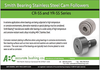 Smith Bearing Stainless Steel Cam Followers!!-Image