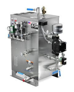 Electric Boiler... Stainless Steel Jacketing -Image