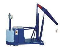Full Powered Reverse Base Floor Crane-Image