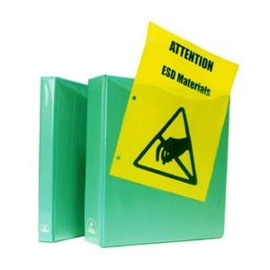 ESD-Safe Binders & Paper Tags-Image