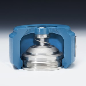 Wafer Style Check Valve Prevents Water Hammer-Image