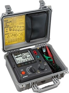 High Voltage Insulation Resistance Tester-Image