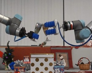 What do robots do at Christmas? VIDEO-Image