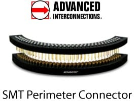Customized SMT Perimeter Connectors -Image
