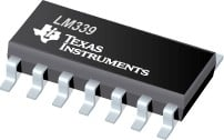 Texas Instruments Quad Differential Comparator-Image