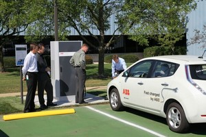 DC fast charger for electric vehicles in the U.S. -Image
