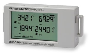 Battery-Powered 4-Channel Thermocouple Data Logger-Image