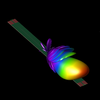 Simulating a Beam Scanning SIW Leaky Wave Antenna-Image