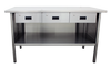 Stainless steel work benches-Image