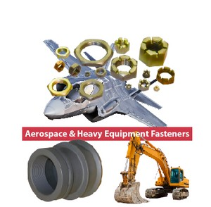 Aereospace & Heavy Equipment Fasteners from Nelson Fastener Systems