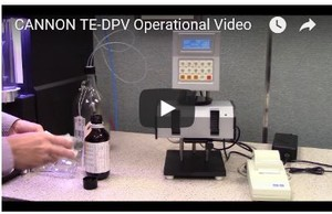 CANNON TE-DPV Operational Video-Image