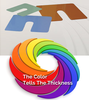 The Color tells the Thickness: Shim Products-Image