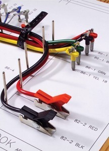 Harness Board Components: Nail Clip, Test Terminal from E-Z-HOOK | Nail Board Wire Harness |  | GlobalSpec