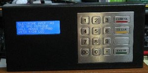 POE Network Keypad in Rugged Enclosure-Image