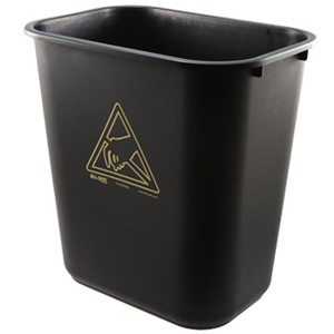 All-Spec WB28Q ESD-Safe Trash Can-Image