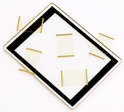 Conductive Bus Bars on ITO/IMITO Coated Glass-Image