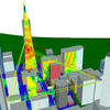 Wireless InSite for Simulation Large Urban Scenes-Image