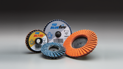 New! Norton Blaze and BlueFire Mini Flap Discs-Image