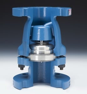 Spring-assisted, Center Guided, Inline Check Valve-Image