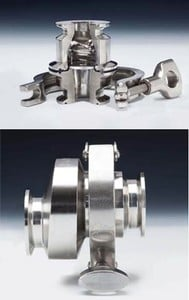 In-line Spring-Assisted Sanitary Check Valves-Image