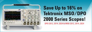 Up to 16% on Tektronix MSO/DPO2000 Oscilloscopes-Image