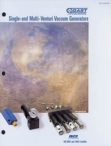 Gast 39 S Vacuum Generator Catalog From Gast Group