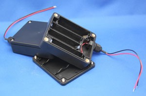 Water-Proof Battery Holder - 4 AA Cell-Image