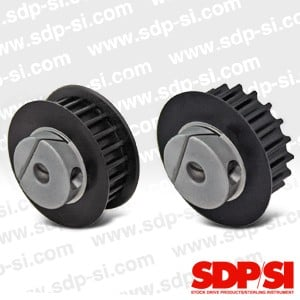 HTD® Timing Belt Pulleys with Fairloc® Hubs-Image