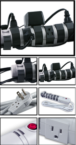 Rotating Power Strip #1 Solution for Saving Space-Image