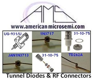 Tunnel Diodes from American Microsemiconductor-Image