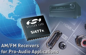 Si477x High-Performance AM/FM Radio Receivers-Image