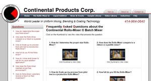 Rollo-Mixer Frequently Asked Questions Videos-Image
