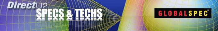 GlobalSpec: DirectU2 Specs & Techs e-Newsletter