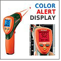 Color Alert Sets IR Thermometer Apart