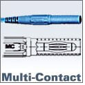 Multi-Contact Test Leads with In-line Plugs
