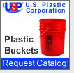 Plastic Buckets in Many Sizes