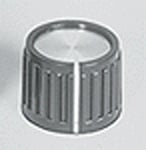 Control Knob - Ribbed with Line Indicator on Knob