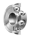 Radial Retainer High Speed Flanged Bearing