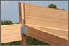 Wood Beams LEED Way
