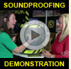 Watch Acoustiblok's Amazing Soundproofing Demonstration