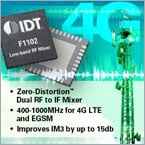 F1102 Dual 400-1000 MHz RF to IF Mixer