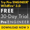 Pro/ENGINEER 30-Day Trial Download