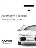 Qorvo RF Solutions for Connected Cars