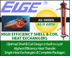 High Efficiency Shell and Coil Heat Exchangers