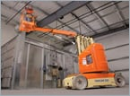 Boom Lift is Fast, Maneuverable