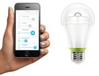 Smart Bulb Talks to Smartphone