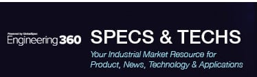 SPECS & TECHS - Your Industrial Market Resource for Product, News, Technology & Applications