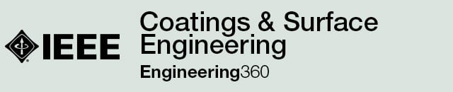 Coatings & Surface Engineering - IHS Engineering360