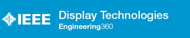 Display Technologies - IHS Engineering360